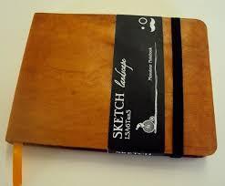 monsieur notebook leather sketchbook tan a6 landscape the ultimate art sketch book 9 99 pegs art