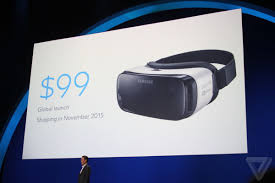 samsung virtual reality headset. samsung and oculus have announced a new gear vr mobile virtual reality headset, it\u0027s coming before black friday. at today\u0027s connect show, headset