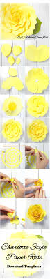 Giant Paper Flower Svg Giant Paper Flower Template Svg Flowers Healthy