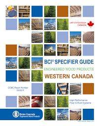 Bci Specifier Guide Western Canada