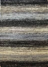 j31915 striped sari silk dhurrie rug jpg