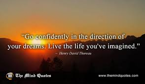 Henry Thoreau Quotes Unique Henry David Thoreau Quotes On Dreams And Inspiration Themindquotes