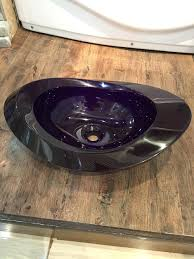 sinks dark purple vessel sink onyx sinks porcelain sapphire blue purple glass vessel sinks oval