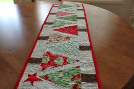 full size of christmas tree ening modernsign christmas table runners rectangle shape colorful tree sewing