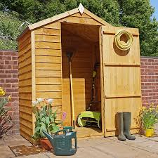 the height on this listing is 4ft 6in sloping down to 4ft the small pent shed is constructed from 16mm tised pressure treated ship lap tongue
