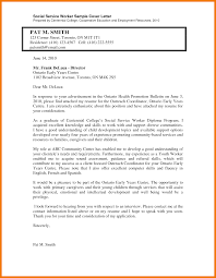 7 Social Work Cover Letter Sample Mbta Online