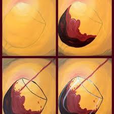 wine canvas awesome 25 best ideas about wine painting on