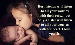 I Love You Sister Quotes Inspiration Love You Sister Quotes Extraordinary 48 I Love You Quotes With