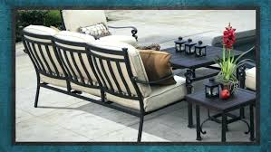 u shaped patio chair cushions outdoor sectional matching dining and conversation l cover