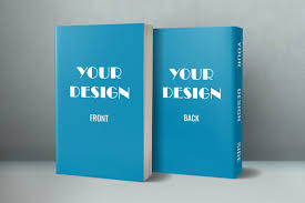 transform your 2d cover into a realistic 5x8 paperback 3d book mockup