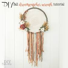 Dream Catcher Saying Delectable DIY Fall DreamCatcher Door DIY Show Off ™ DIY Decorating And