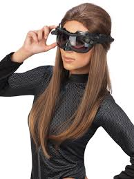 Deluxe Catwoman Adult Mask / Goggles