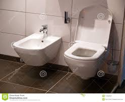 modern bathroom toilet seat stock photography  image