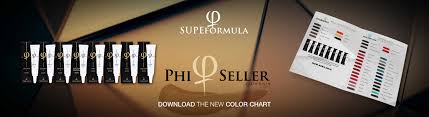 Phibrows Color Chart Phiseller By Zlata Kicin Phiseller By Zlata Kicin
