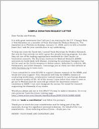 Example Of Solicitation Letter For Donation New Sample Donation