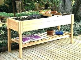 elevated planter boxes above ground gardening plans building an garden bed box buildi