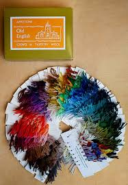 Appleton Color Card Color Card Stitch Witchery Purl Soho