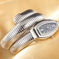 <b>2019 CUSSI Luxury Brand</b> Snake Watch Gold Womens Watches ...