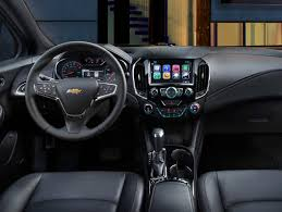 image of 2018 chevy cruze vs malibu interior and tech