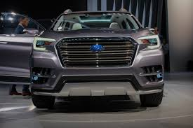 2018 subaru ascent. plain 2018 2018subaruascentconceptilika1600x1067015  intended 2018 subaru ascent