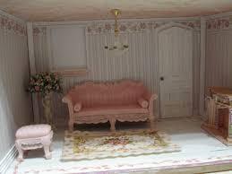 Custom Styled Dollhouse Kits Painting Resin Dollhouse Furniture