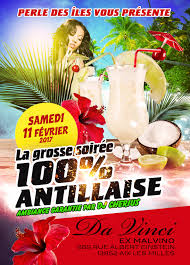 Soirée Antillaise Paris - Accueil Facebook
