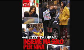 Clizia Incorvaia e Francesco Sarcina insieme ma solo per amore della  piccola Nina