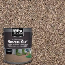 tan granite grip decorative flat interior exterior concrete floor coating