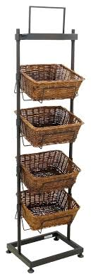 Shop Display Baskets Stands
