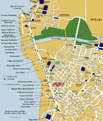 hotel zone map from puerto vallarta  vallartainfo