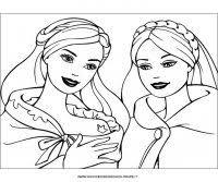 Barbie Pirncipessa Disegni Da Colorare Di Barbie Principessa