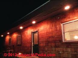 full image for exterior recessed lighting in soffits recessed outdoor lighting in soffits vinyl roof soffit