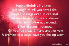 Happy Birthday Love Quotes For Her Delectable Happy Birthday Love Poems