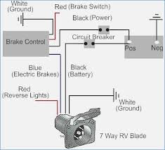 caravan electric hook up wiring diagram onlineromania info Basic Electrical Wiring Diagrams how to install a electric trailer brake controller a tow vehicle caravan electric hook up wiring diagram