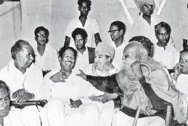 Image result for MGR with karunanidhi