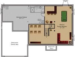 Amazing Basement Floor Plans And Ideas Design Ideas  Decors - Finish basement ideas