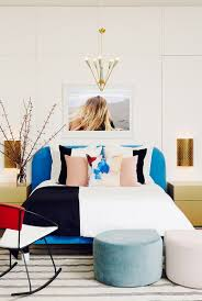 Bedrooms:Eclectic Modern Bedroom With White Modern Bed And Unique Modern  Gold Bedside Tables Girl