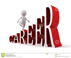 d man moving up on success ladder of career text royalty 3d man moving up on success ladder of career text