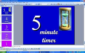 5 Min Timer With Music Classroom 5 Minute Timer Powerpoint With Music By Who Dat Teacher