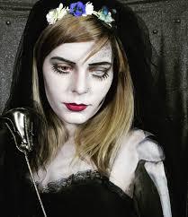 dead bride halloween makeup
