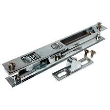 444 chrome plated patio door lock