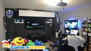 Room  Cool Basement Game Room Decorations Ideas Inspiring Photo Cool Gaming Room Designs