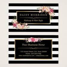 tarjeta de visita vine del oro del salón de belleza del artista