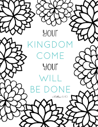 Free Printable Bible Verse Coloring Pages With Bursting Blossoms