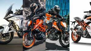 ktm india to launch 4 motorcycles in 2016 17 new 390 duke to
