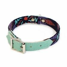 Patterned Dog Collars Beauteous Hiro Wolf 'Sprite' Patterned Dog Collar Artisans Adventurers