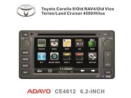 toyota fj cruiser 07 11 oem replacement in dash double din 6 2