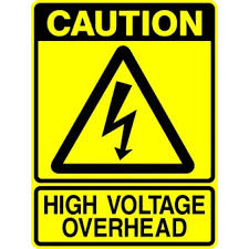 Image result for caution high voltage sign