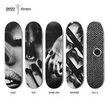 Skateboards Designs Daido Moriyama X Qucon X Evisen Skateboards Hypebeast