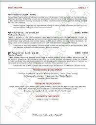 Kindergarten Teacher Job Description Resume For Study Aebe Website